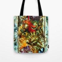 metallic Tote Bags featuring Metallic by Vargamari