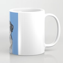 Gus the schnauzer mix Coffee Mug