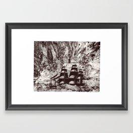 Rough Seas Ahead Framed Art Print