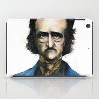 edgar allan poe iPad Cases featuring Edgar Allan Poe by Jaume