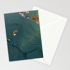 Colour fish  Stationery Cards