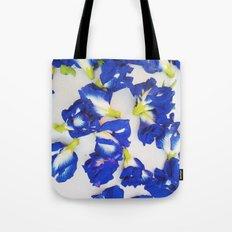 Pea Flower Tote Bag