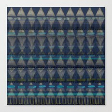 Layered Triangles Canvas Print