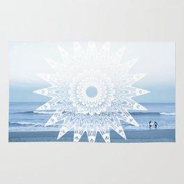 Surf mandala Rug