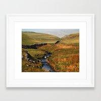 cassia beck Framed Art Prints featuring Scaleber Beck by Steve Watson