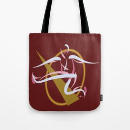 Jumpin', Pt. 2 (Red) Tote Bag