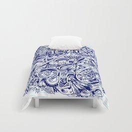 sometimes i get bored Comforters