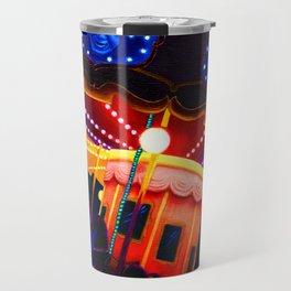 Carousel , Oil Painting Travel Mug