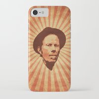 tom waits iPhone & iPod Cases featuring Waits by Durro
