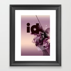 freud's id Framed Art Print