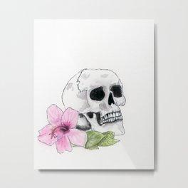 Muerte y Vida Metal Print