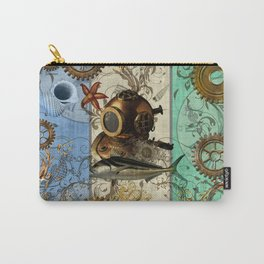 Nautical Steampunk Carry-All Pouch