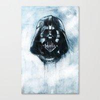 dark side Canvas Prints featuring Dark Side by ErDavid