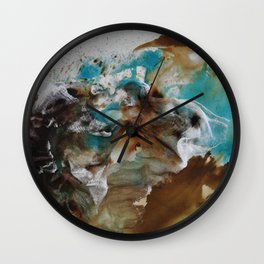 Étirement de L'esprit: Morning Wall Clock