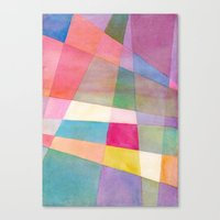 grid Canvas Prints featuring Grid by Dreamy Me