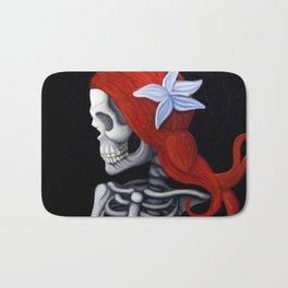 Skull Girl Bath Mat