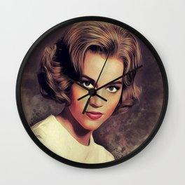 Jane Fonda, Hollywood Legend Wall Clock