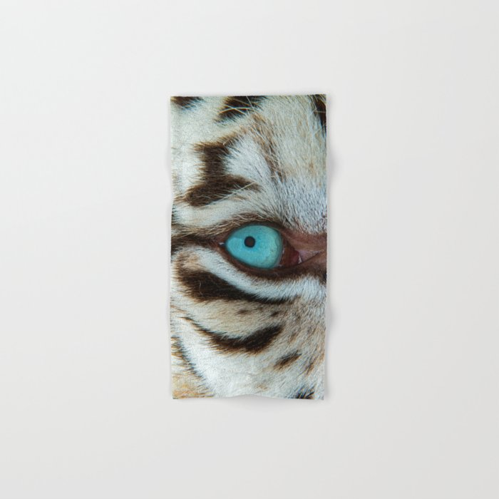 WHITE TIGER BEAUTY Hand & Bath Towel