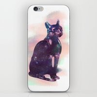 egyptian iPhone & iPod Skins featuring Egyptian cat  by Vita♥G
