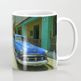 Vintage Plymouth at Cojimar Coffee Mug