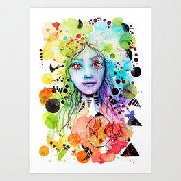 Expression of Joy Art Print