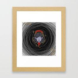 Cult Girl Classic Framed Art Print