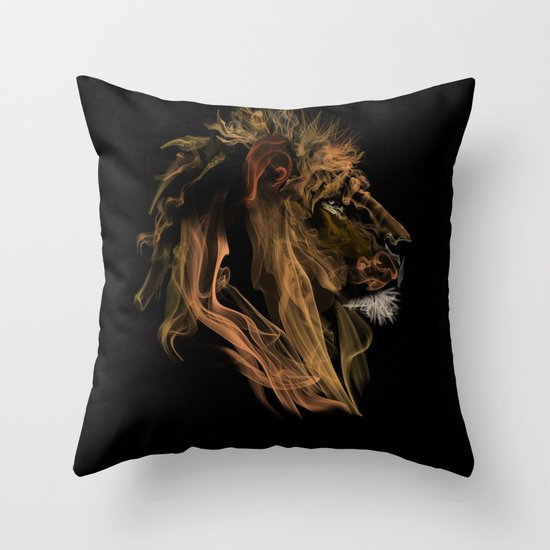Where there's smoke there's fire! Throw Pillow