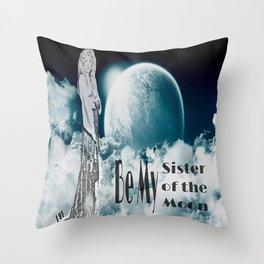 Stevie Nicks - Sister of the Moon Throw Pillow