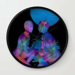 talking again Wall Clock