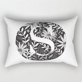 S Monogram Rectangular Pillow