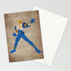 Commanding Captain (Captain Commando) Stationery Cards