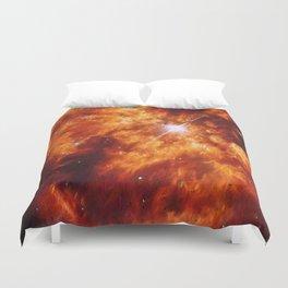 Cosmic Couple Duvet Cover