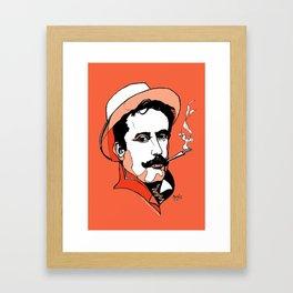 Composer Giacomo Puccini Italian Opera Ballet Madame Butterfly Turandot Tosca La Boheme Italy Art Framed Art Print
