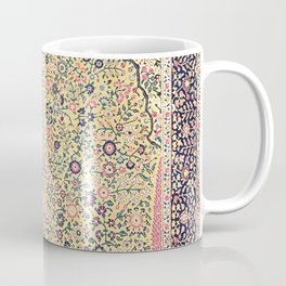 Douglass Mughal 'Millefleurs' North Indian Rug Print Coffee Mug