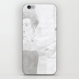 Luke 5 Seconds in Concert Drawing iPhone Skin