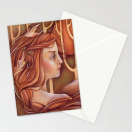 Untamed - an ode to autumn Stationery Cards