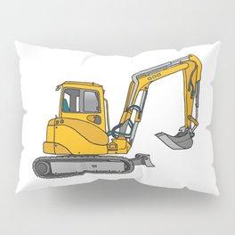 Digger excavators dredger Pillow Sham