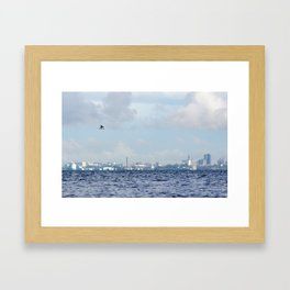 Watching Over The City Framed Art Print