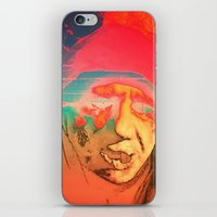 sci fi iPhone & iPod Skins featuring Lo-Fi Sci-Fi by potpourrri