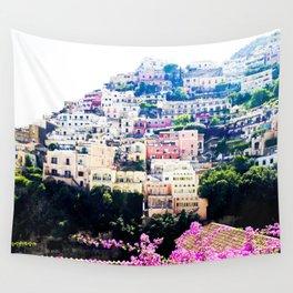 Positano, Italy Wall Tapestry