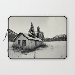 Trees on the roof Laptop Sleeve