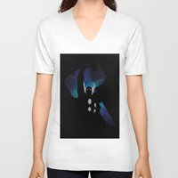thor V-neck T-shirts featuring Thor by Sport_Designs