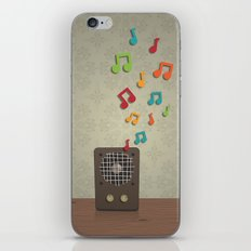 Speak To Me With Music iPhone & iPod Skin