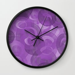 Spring Swirls Wall Clock
