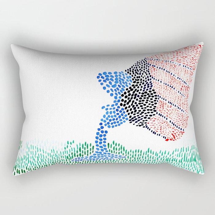 baby butterfly Rectangular Pillow