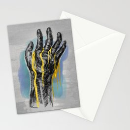Gold Blood Stationery Cards