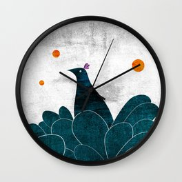 Mimetic Wall Clock