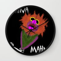 muppet Wall Clocks featuring Mahna Mahna....great Muppet! by Linda V.