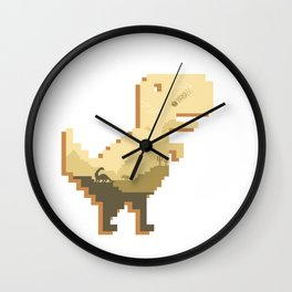 Jurassic Offline Wall Clock