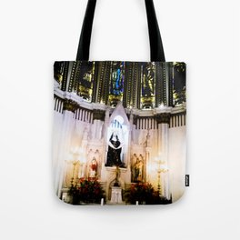 The shrine of the church. Tote Bag